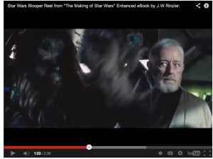 The Wookie and Sir Alec Guinness