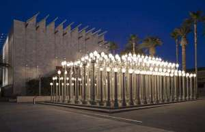 Urban Light is an installation at LACMA