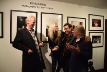 Morrison Hotel Gallery Peter Blachley, Alison Mosshart, Jamie Hince, Henry Diltz
