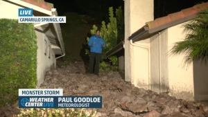 Donna Balancia story Landslides a result of wildfires damage and rain