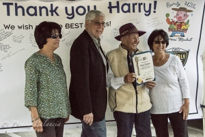 Harry Nicholas retirement