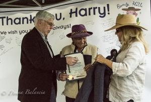 Harry Nicholas retires by Donna Balancia