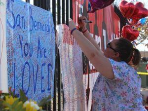 As memorials grow in San Bernardino, so do costs in massacre - Photo courtesy of The Desert Sun