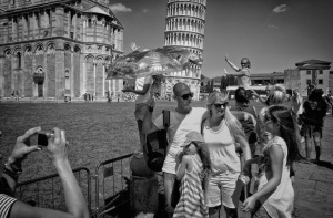 Tourists have technology to rely on today - Photo by Martin Mutch