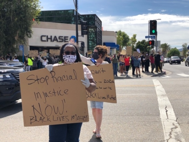 Protests continue in LA by Harriet Kaplan